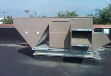 Commercial Makeup Air System